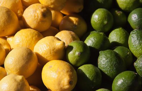 Lemons vs. Limes - Smiley's Market, Sunnyside, Queens NYC