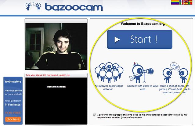 Bazzocam org chatroulette francais