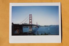 Golden Gate (Corey Vaughan) Tags: instantfilm fujifilminstax