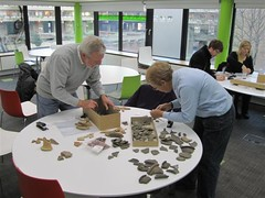 Getting your hands on pottery in our Hands-On Workshop