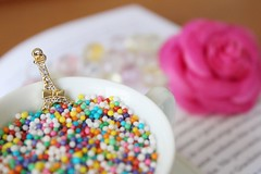 Sweet Little Things (Jaque ) Tags: food flower cute cup beautiful photography book photo cool colorful pretty candy sweet eiffeltower 1855mm inspire acessorie byjaque