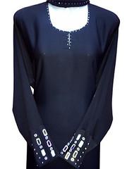 Abaya Dubai Elegant GIS3029ABA (Abaya Gulf Islamic Dubai) Tags: hijab kaftan abaya jilbab caftans morrococaftans