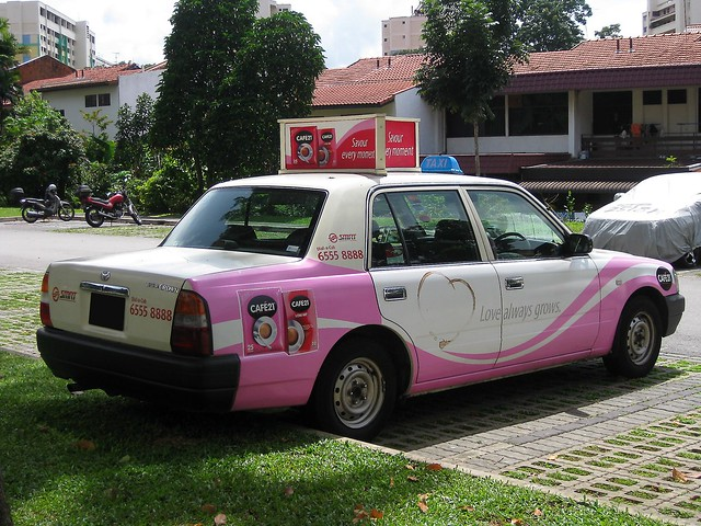 SMRT TAXIs Toyota Crown Taxi