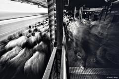 Rush on The Platform (bnilesh) Tags: people train crowd lifestyle rush local mumbai