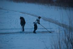 sledging2012-299.jpg (Zandvoort Life) Tags: winter snow holland ice netherlands kids nederland sanddunes 2012 frozenlake zandvoortaanzee scrapingsnow saggerboy