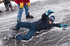 スケートの練習