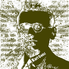 Kurt Gdel (AK Rockefeller) Tags: portrait its god philosophy math mathematics logic mathematician incompleteness settheory kurtgdel