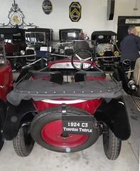 Citroen C3 Torpdo Trfle 1924 (gueguette80 ... non voyant pour une dure indte) Tags: old cars citroen autos avril conservatoire 2014 aulnay anciennes caisses franaises carrees