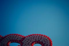 Circles (donlunzo16) Tags: city morning blue light red sun colour film store spring nikon df raw nef stuttgart pack lamps attractions lightroom fesitval wasen cannstatter preset vsco