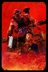 Masters of the Universe Classics - Goat Man (Ed Speir IV) Tags: man macro guy classic television monster hammer comics toy actionfigure tv comic action cartoon bad horns evil goat retro fantasy classics figure satan scifi horror demon warhammer beast masters horn universe villain motu mattel enemy heman satanic servant eternia badguy mastersoftheuniverse klacky beastman goatman lacky motuc hornheaded