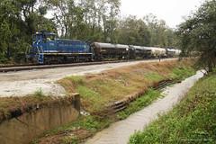 Taking It to the Interchange (The Industrial Railfan) Tags: train track florida terminal northern ttr apalachicola switcher switching jacksonvillefl shortline talleyrand jaxport
