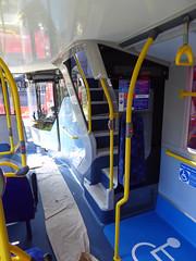GAL EH52 - YX16OCH - INTERIOR - BV GARAGE - 28TH APR 2016 D (Bexleybus) Tags: bus london ahead interior garage go 400 belvedere dennis mmc bv enviro adl goahead eh52 yx16och