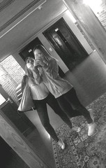 Szczyrk #56 (klaudiastach) Tags: girls friends camp blacknwhite bf mirrorphoto szczyrk polishgirls