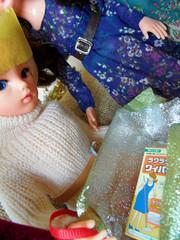 Sindy's Christmas Day - 25 (misssindy) Tags: christmas doll dolls marx 16 gayle diorama pedigree sindy