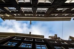 En Haut (lecointelaetitia) Tags: haut amsterdam europe lumire couleurs colors travel voyage city ville architecture paysbas
