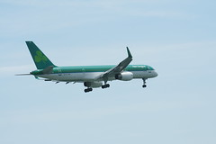 IMG_2512 (wmcgauran) Tags: boston airplane airport aircraft aviation boeing bos aerlingus 757 eastboston kbos eicjx