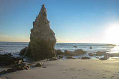 Washed Out (Kraften) Tags: ocean california blue sunset sea sky seascape beach water out coast los sand rocks waves pacific angeles malibu washed 500px ifttt