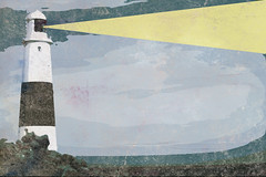 DSC00301-Portland-Bill-Lighthouse-Pop-Grunge (Lex Photographic) Tags: digitalart dorset portlandbill dorsetpictures