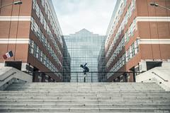 Seven Steps... (Arthur Janin.) Tags: street leica france digital 35mm photography arthur photo f14 steps gap 7 m ollie sl seven skate skateboard trick toulouse 35 rider summilux asph sk8 janin fle marches 601 typ