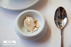 Predessert - Oat ice cream, peanut powder, peanut brittle (thewanderingeater) Tags: atlanta dinner georgia buckhead finedining restauranteugene