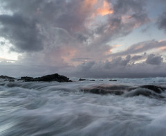 Head in the Clouds (sampost) Tags: motion water hawaii waves maui cloudscape napili westmaui