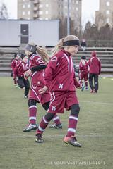 1604_FOOTBALL-88 (JP Korpi-Vartiainen) Tags: game girl sport finland football spring soccer hobby teenager april kuopio peli kevt jalkapallo tytt urheilu huhtikuu nuoret harjoitus pelata juniori nuori teini nuoriso pohjoissavo jalkapalloilija nappulajalkapalloilija younghararstus