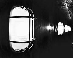 Light in the dark (singh.buland) Tags: street light construction oldschool retro iphone