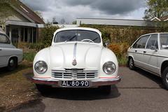 1948 Tatra 600 'Tatraplan' (Davydutchy) Tags: auto classic car spring automobile rally voiture vehicle oldtimer tatra pkw klassieker maartensdijk mauritshoeve automobiel voorjaarsrit frhlingstreffen tatraregisternederland