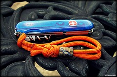 paracord wrist lanyard (Stormdrane) Tags: blue camping orange make video bottle fishing amazon stainlesssteel ebay sailing hiking decorative military tie utility mini can knot backpacking diagram micro boating geocache bead shield secure wrist blade create edc titanium ti awl corkscrew wenger weave instruction tutorial commander screwdriver braid scouting opener everydaycarry tweezers nailfile useful lanyard affiliate paracord swissarmyknife 784 flamed retention beprepared bushcraft abok whyknot plainedge 550cord stormdrane crownanddiamond