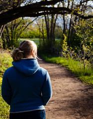 Urban Garden Wanderlust (AHeadman) Tags: portrait woman girl landscapeportait