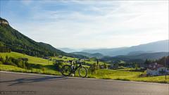 St. Michael View (Torsten Frank) Tags: italien grden canyon alpen fahrrad sdtirol altoadige gebirge rennrad dolomiten radfahren radsport seiseralm schlernmassiv ultimatecfslx