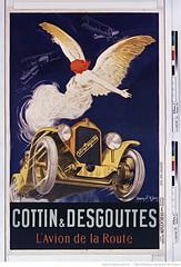 1926. Cottin et Desgouttes l'avion de la route (Library ABB 2013) Tags: poster bnf franais nationallibraryoffrance bibliothquenationaledefrance 1926