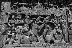 once upon a time (ababh) Tags: indonesia java borobudur candiborobudur level3 gandavyuha avatamsakasutra ruin abandoned remains fragment   life shadowplay