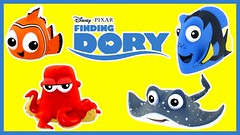 Disney Finding Dory Toys Surprise Boxes with Nemo, Dory, Mr Ray and More! (The Toy Bunker) Tags: girls boys toy toys ray with finding nemo mr review disney more surprise boxes dory