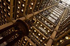 Bottom up architecture! {Explore #31} (Alexandre Moreau | Photography) Tags: building london tower architecture photography alt openhouse bottomup llyods ultrawideangle llyodstower nikond7000 alexandremoreau|photography