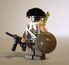 Weird War American soldier (orfentage) Tags: war lego brodie wwii contest helmet wierd brickarms gibrick