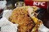Take a sinful bite off this KFC ZINGER DOUBLE DOWN