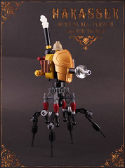 harasser (captainsmog) Tags: mars robot photo war rivets lego victorian picture machine steam cannon copper minifig minifigs custom brass gears vignette pratchett martian mecha novels steampunk mocs moc