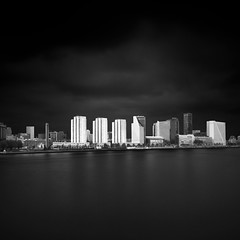 Rotterdam - White on Black (Joel Tjintjelaar) Tags: architecture rotterdam fineart minimalism longexposurephotography rotterdamarchitecture nd110 nd106 tjintjelaar joeltjintjelaar blackandwhitefineartphotography fineartarchitecturalphotography fineartarchitecture internationalawardwinningphotographer blackandwhitelongexposurephotography rotterdaminblackandwhite architecturallongexposurephotography blackandwhitefineartarchitecturalphotography