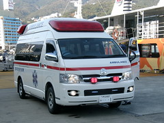 #1117 ambulance () (Nemo's great uncle) Tags: geotagged  izu atami   eastizu hatsushima shizuokaprefecture   geo:lat=3508987766514235 geo:lon=13907656462450223