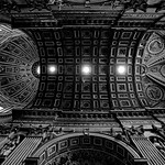 st peter's basilica ceiling and dome
