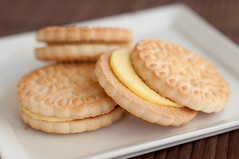 simple pleasures (Pen Waggener) Tags: food cookies dessert lemon cookie creme kroger