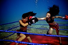 UW-ChineseBoxing 17 (steadichris) Tags: underwater models chinese scuba lingerie cebu boxing breathhold
