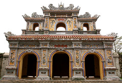 Hue Citadel 132 (David OMalley) Tags: city family green castle wet asian hall asia king vietnamese purple fort citadel room south royal palace lord east vietnam tropical imperial verdant walls southeast fortification fortifications moat hue tropics throne emperor nguyen palatial