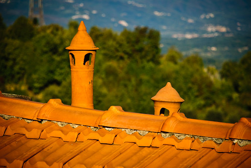 Tuscany rooftop