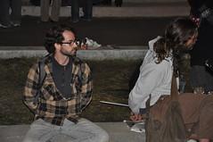 DSC_0090 (Steve Rhodes) Tags: sf sanfrancisco california ca night evening protest economy justinhermanplaza 2011 jhp occupy