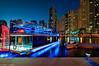 Electric Blue (DanielKHC) Tags: blue digital marina boats nikon dubai uae hour dri blending d300 danielcheong danielkhc tokina1116mmf28
