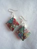 Marbled Paper Earrings