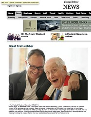 Chicago Tribune (Ronnie Biggs The Album) Tags: ronnie biggs greattrainrobbery oddmanout ronniebiggs ronaldbiggs