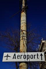 To flight, go up. (Go 4 IT) Tags: city color sign photography nikon creative amateur cpl d3100 flickrstruereflection1 evghenitirulnic